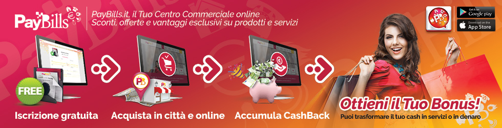 PayBills | Il Tuo Centro Commerciale online